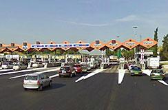 Bramki autostradowe w Hiszpanii