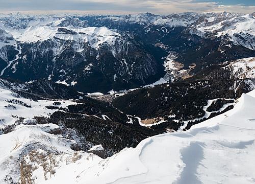 Canazei w Val di Fassa
